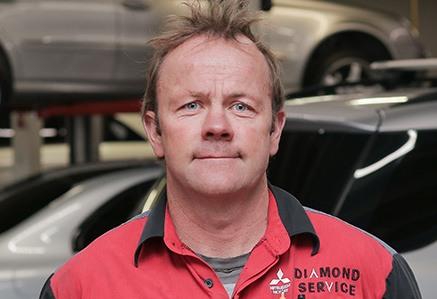 Andy Young Head Mitsubishi Technician