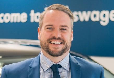 Michael Hammond Gazley Volkswagen Brand Manager