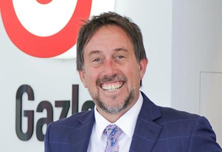 Myles Gazley Managing director