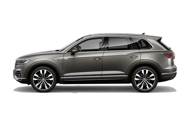 Touareg V6S finished in Silizium Grey