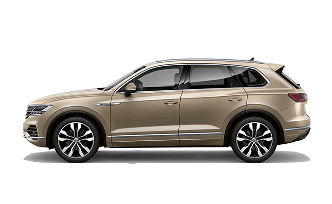 Touareg V6S finished in Sand Gold