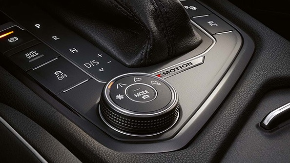 Personalise the little things. For added confidence in challenging driving conditions, you can't go past Volkswagen's 4MOTION all-wheel drive system with Active Control.  Active Control allows you to tailor your driving experience by choosing one of four special all-wheel drive modes (snow, on-road, and two off-road settings: one automatic and one variable) via a rotary switch. A central mode button activates the Driving Profile Selection, which offers further personalisation of the on-road mode with Eco, Normal and Sport profiles available to the driver.  Feature not available on 2WD Comfortline