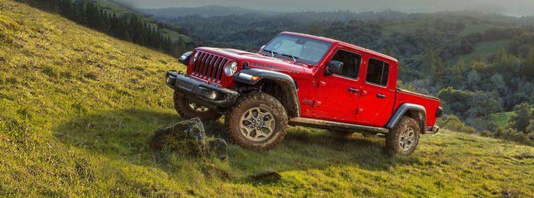 Jeep Wrangler Gladiator